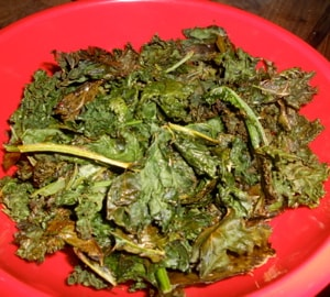 Kale chips to the rescue!