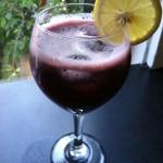 Blueberry Basil Lemonade Fizz