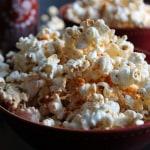 Super Bowl Sriracha Popcorn