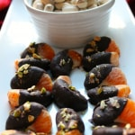Dark Chocolate Covered Mandarins