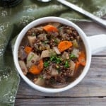 Slow Cooker Vegetarian Guinness Irish Stew