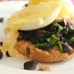 Truffle Mushroom Eggs Benedict