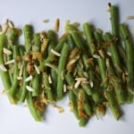 Caramelized Onion Green Beans
