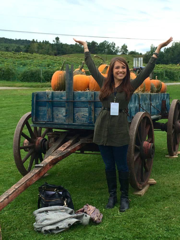 Vermont pumpkins blog brulee | The Foodie Dietitian @karalydon