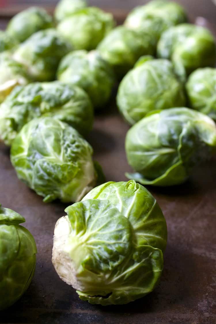 Delicious Brussels Sprouts | The Foodie Dietitian @karalydon