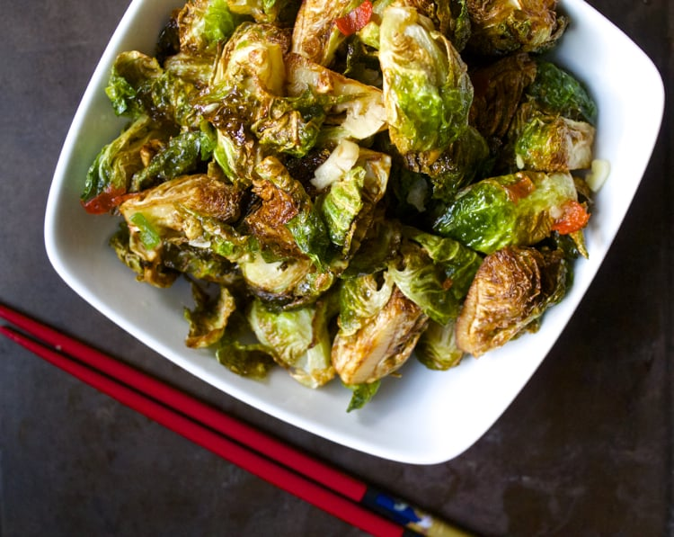Thai Brussels Sprouts | The Foodie Dietitian @karalydon