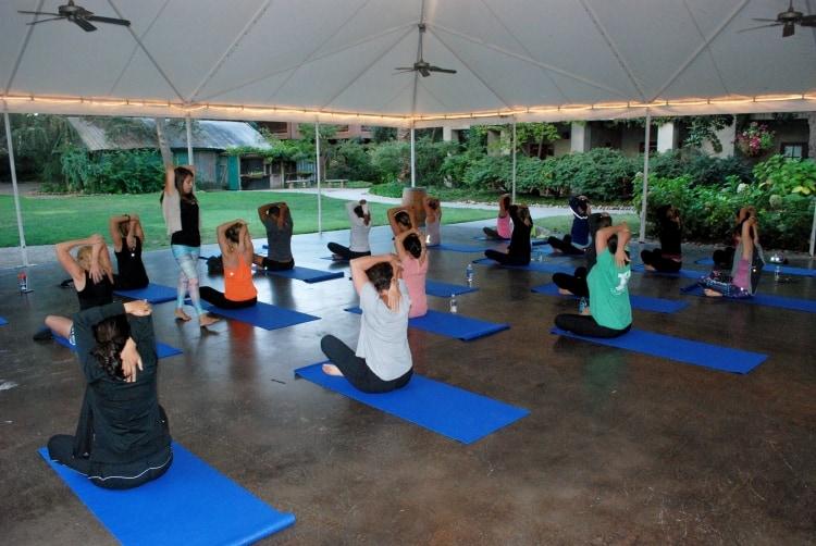 Corporate Yoga Instruction