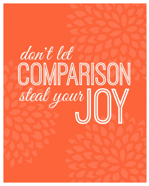 Mindful Monday: How to stop comparing yourself to others | The Foodie Dietitian  @karalydon