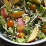 Sayonara Summer Power Salad with Chia Dressing