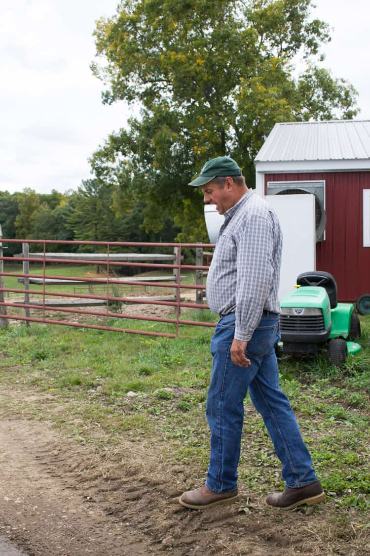 Dairy Farmer at Honstra Farms | The Foodie Dietitian @karalydon