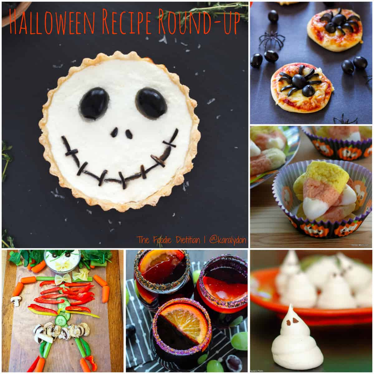 PicMonkey Collage - Halloween Recipe Round Up