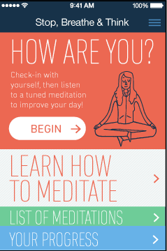 The Top 3 Meditation Apps | The Foodie Dietitian @karalydon