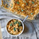 Sweet Potato & Kale Mac N' Cheese