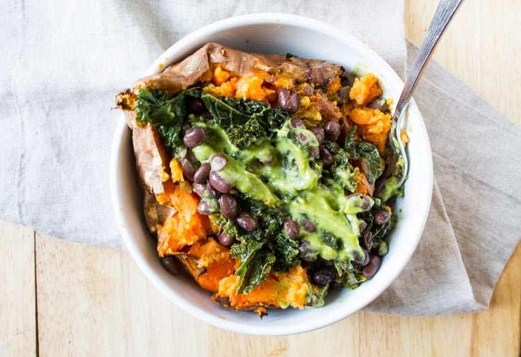 Vegan Sweet Potato | The Foodie Dietitian @karalydon