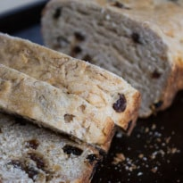 Gram's Irish Raisin Bread - A Holiday tradition | @TheFoodieDietitian