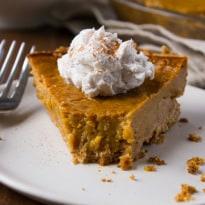 Vegan Gluten-Free Pumpkin Pie-6