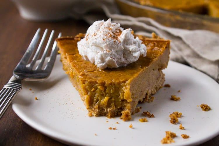 Kara Lydon | Vegan Gluten-Free Pumpkin Pie