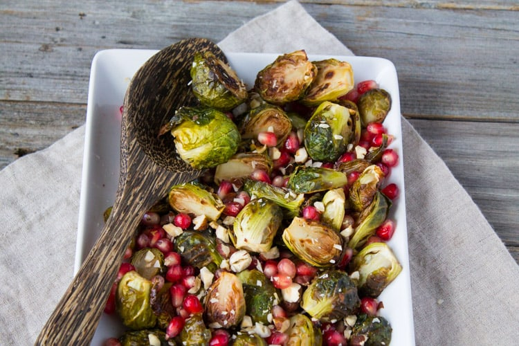 Brussels Sprouts with Pomegranate Seeds FG-8