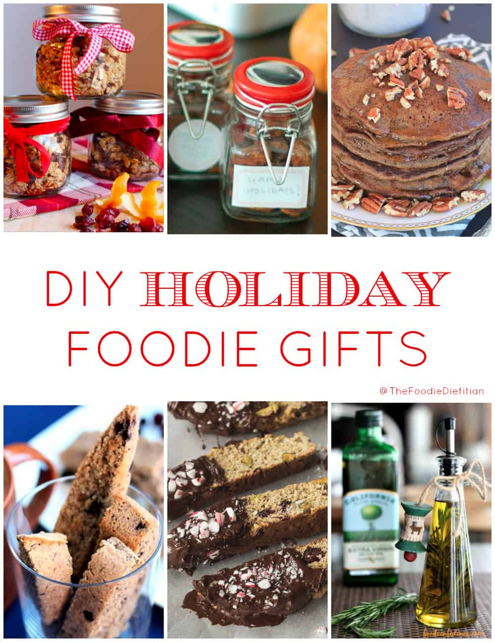 DIY Holiday Foodie Gifts