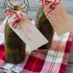 DIY Holiday Gift- Herb Infused Vinegar-4