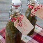 Holiday DIY Gift: Herb Infused Vinegars