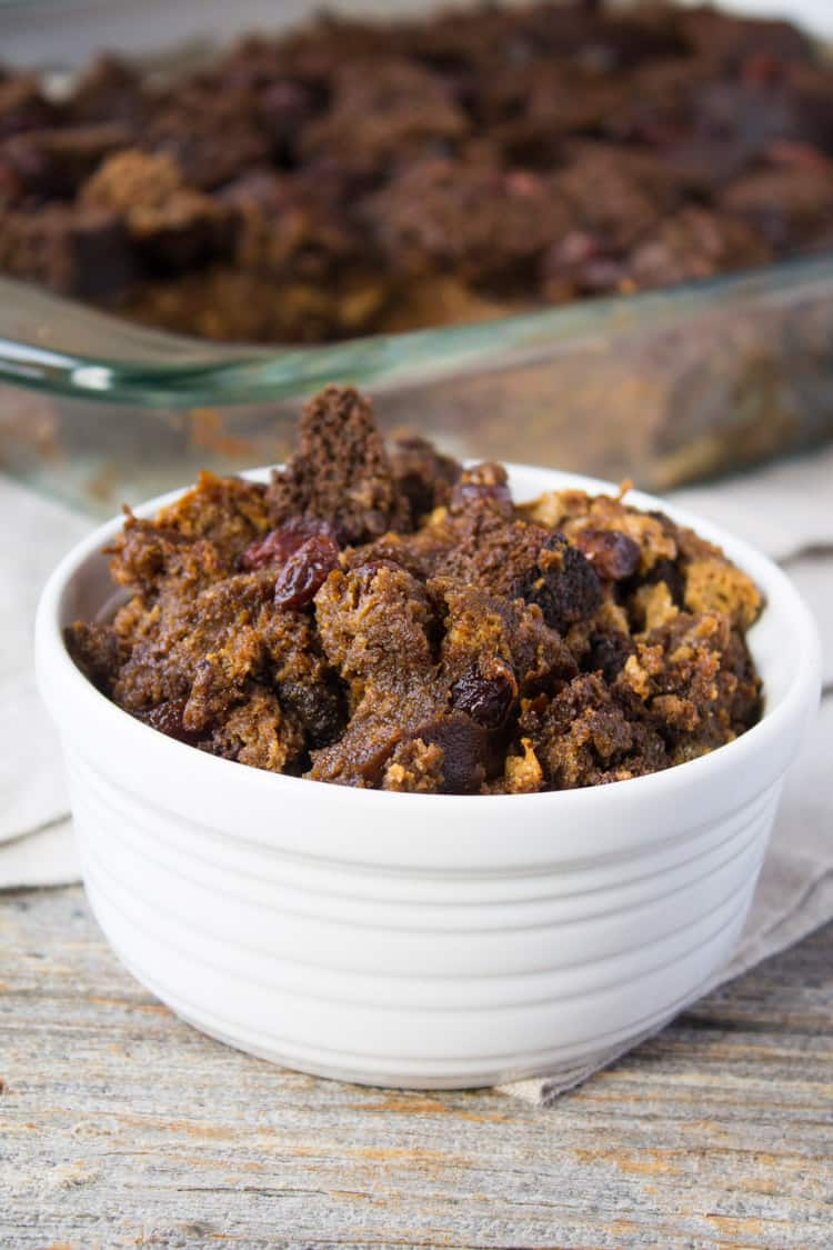Gingerbread Bread Pudding -4