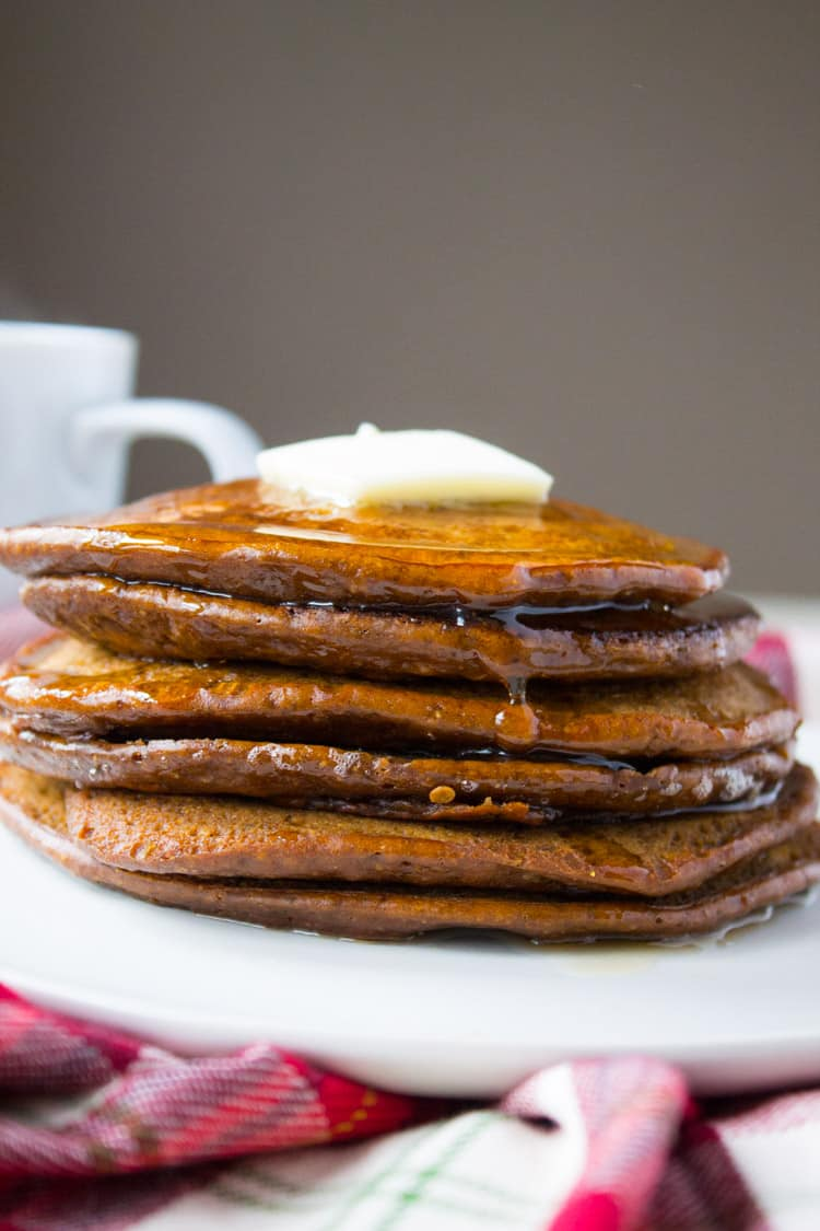 Gingerbread Pancakes-4