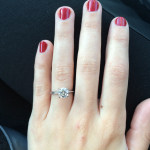 The Christmas I got engaged!