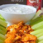 Buffalo Cauliflower Wings-Pin