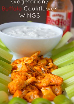 Buffalo Cauliflower Wings-Pin