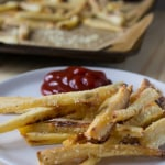 Parsnip Fries | @TheFoodieDietitian