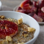 Blood Orange Oatmeal | @TheFoodieDietitian