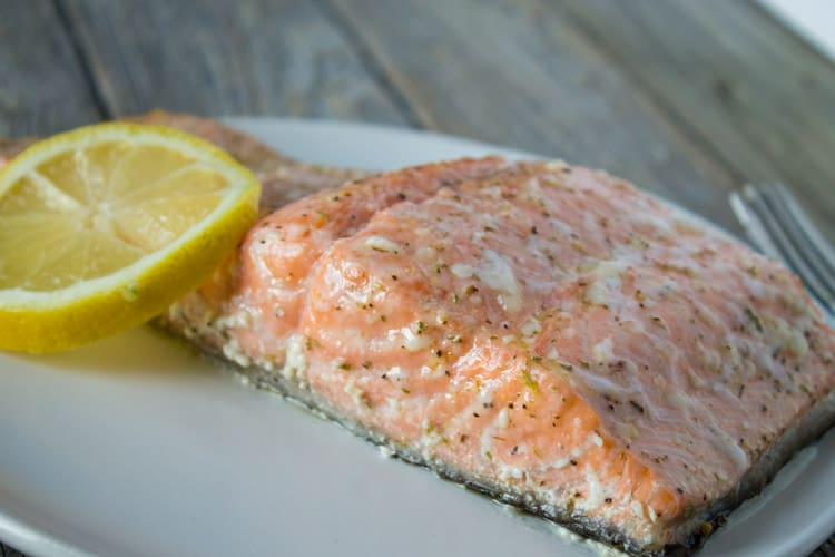 Kara lydon the best way to cook salmon slow cooked salmon for What temperature to fry fish