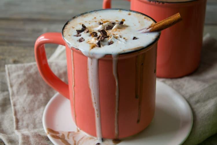 Vegan Boozy Mexican Spiced Hot Chocolate