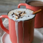 Vegan Boozy Mexican Spiced Hot Chocolate
