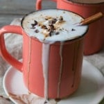 Boozy Mexican Spiced Hot Chocolate   @TheFoodieDietitian