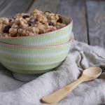 Brown Rice Pudding   @TheFoodieDietiian