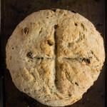 Whole Wheat Irish Soda Bread | @TheFoodieDietitian