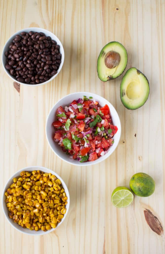 Chipotle Inspired Vegan Burrito Bowls | @TheFoodieDietitian