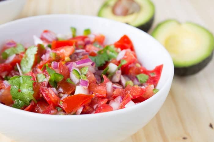 Inspired Vegan Burrito Bowls | @TheFoodieDietitian