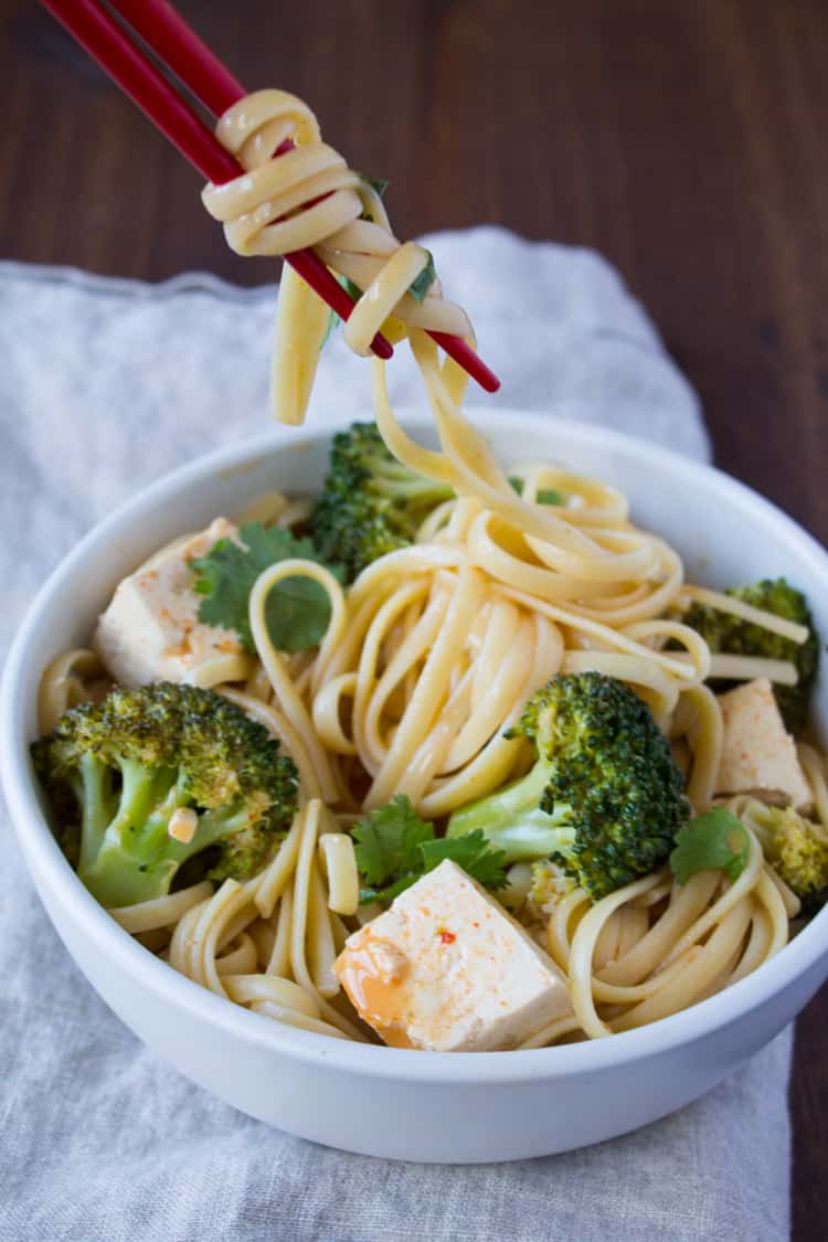 Easy Curried Noodles with Tofu-2