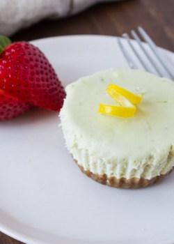 No Bake Matcha Cheesecake Bites