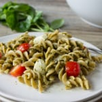 Caprese Hemp Pesto Pasta Salad