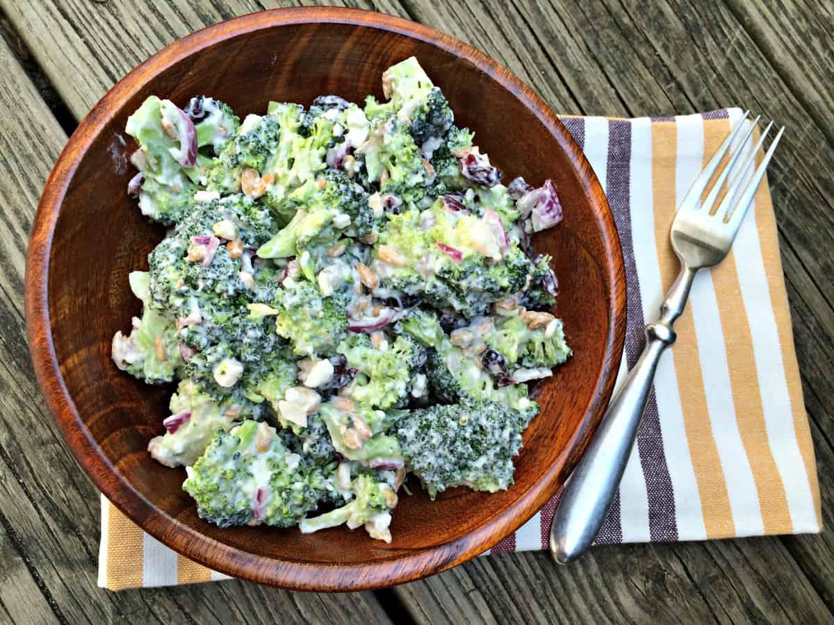 Kara Lydon Creamy Broccoli Salad