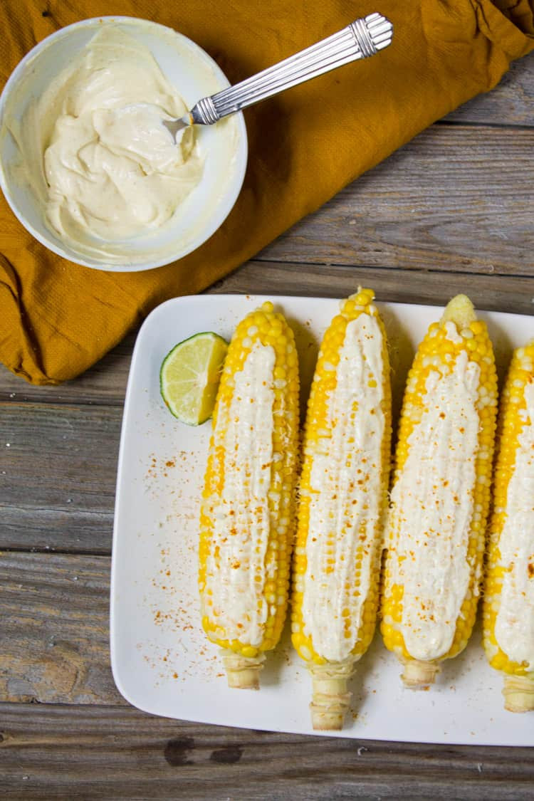 Indian Street Corn | @TheFoodieDietitian