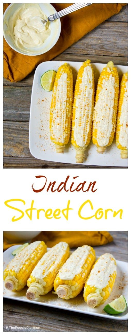 Kara Lydon | Indian Street Corn (with curried yogurt) - The Foodie ...