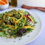5 Tips for Eating a Plant Based Diet + Kiwi Herb Salad