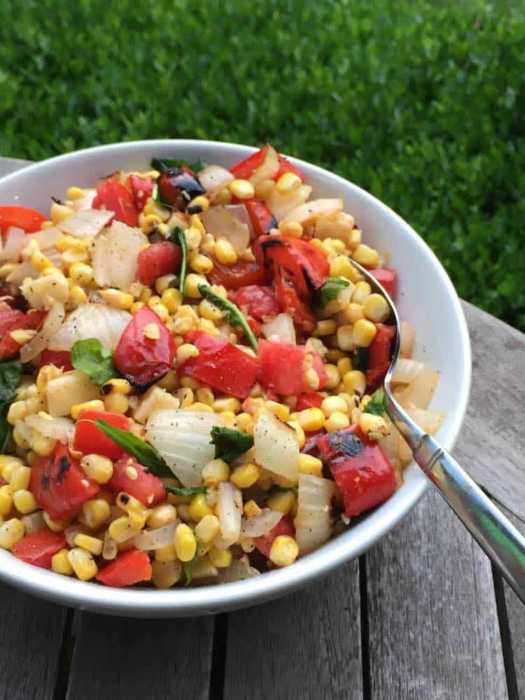 Smoky Corn and Pepper Salad