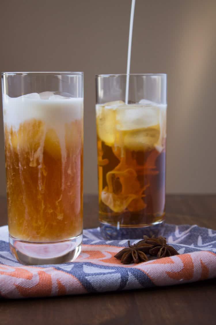Vegan Thai Iced Tea | @karalydon