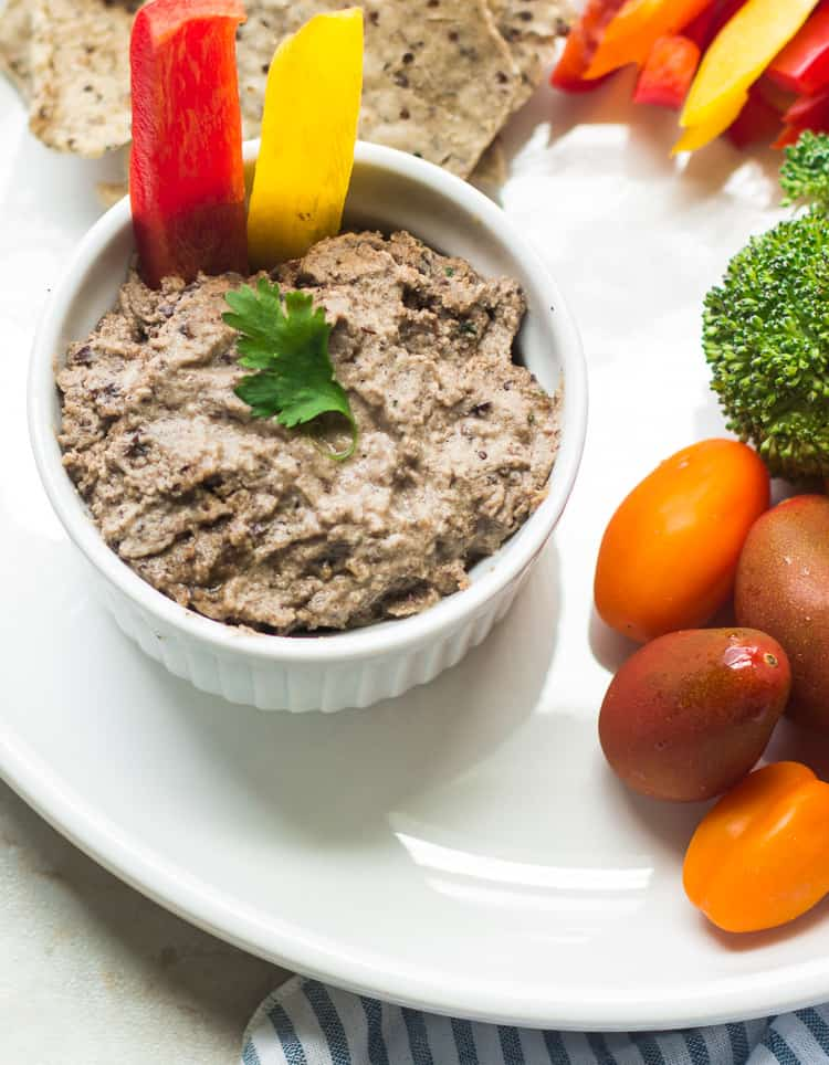 Spicy Adzuki Bean Hummus-3